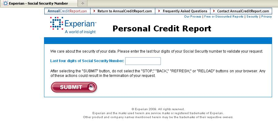 how to get your annual free credit report