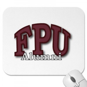 FPU Alumni mousepad by Zazzle