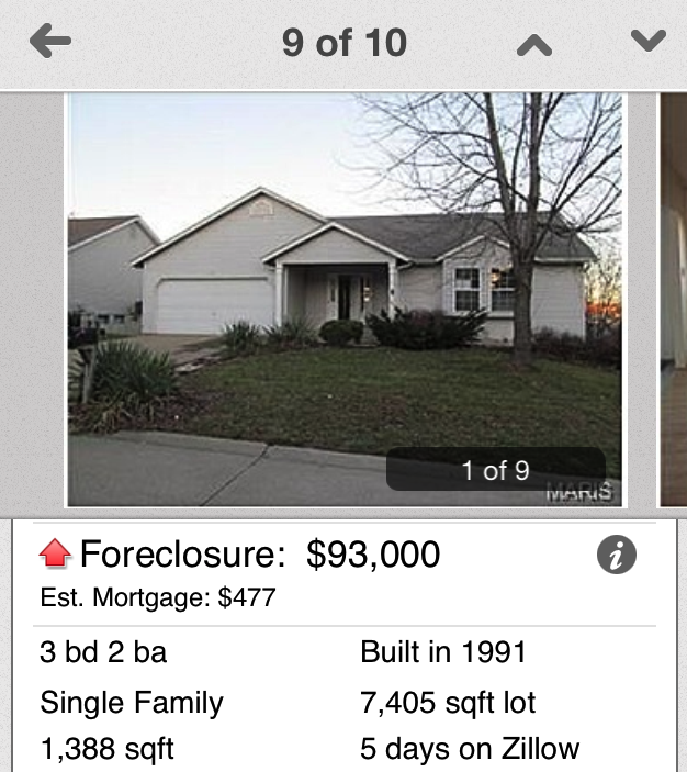 Foreclosures like this make me sad