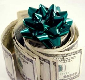 What should I do with a Christmas Bonus?