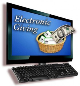 3 ways to give a tithe - electronic giving