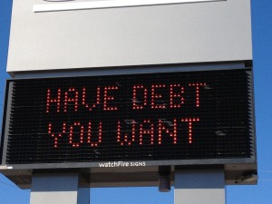 Debt you want